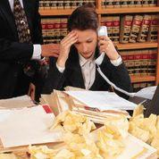 Worried lawyer