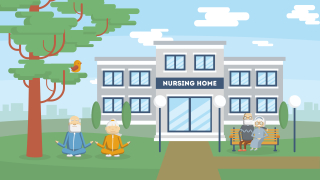 Nursing home icon