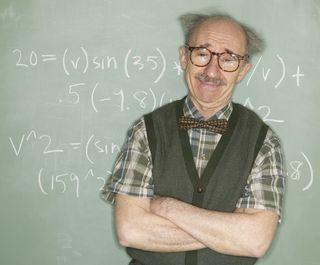 Einstein looking older guy