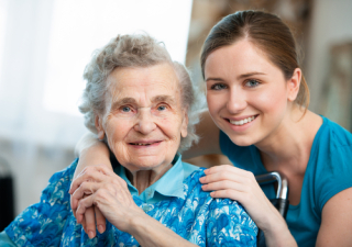 Elder and caregiver